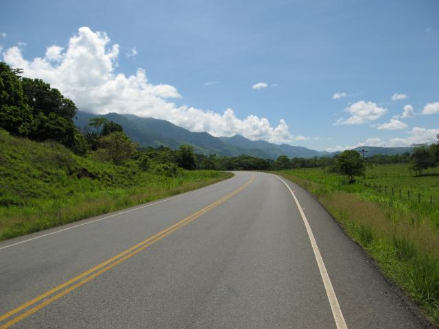 the only good road in costa rica